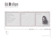 Bild Webseite Gestaltungsbüro Berlin In-D sign Berlin