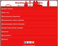 Website Brauhaustouren in Köln