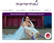 Bild Die Kartenfrau - Kartenausstellung bei Wedding Connection
