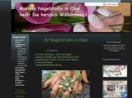 Website Marions Nagelstudio