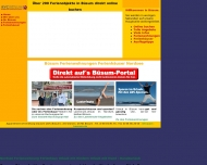 Website AVC - Büsum - Ferienwohnungen und Ferienhäuser