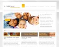 Bild Webseite Dr. Frank & Partner Ergotherapeuten München