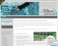 Website Roland Schnecke elektronik