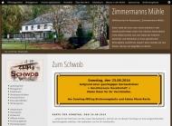Website Zimmermanns Mühle
