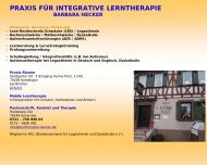 Website Praxis f. integrative Lerntherapie