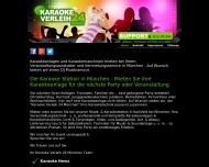 Website Karaoke Verleih 24 München - DJ-Partyanlage Mieten Musikservice