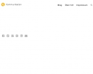 Bild Webseite h2l Kommunikation Stuhr