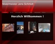 Website Malermeister Jens Schmidt