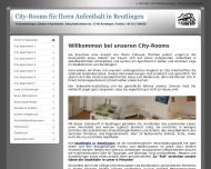 Website CITY-ROOMS