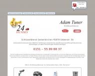 Website 24 Std Schlüsseldienst Gelsenkirchen Adam Tuner