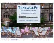 Website TEXTWOLFF