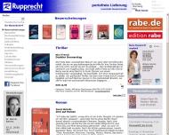Bild Webseite Buchhandlung Rupprecht Aichach
