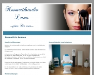 Website A1 Kosmetikstudio Lana in Leimen