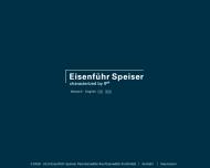 Website Eisenführ Speiser
