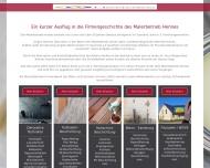 Bild Webseite Malerbetrieb Hennes Spiesen-Elversberg