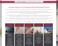 Website Malerbetrieb Hennes
