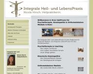 Bild Integrale Heil- und LebensPraxis. Nicola Hirsch. Heilpraktikerin.