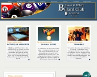 Website Billard Club Black & White Verden.