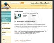 Bild Webseite Vereinigte - Dienstleister Berlin