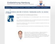 Bild  Erstbelehrung Hamburg