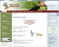 Website dogzteam COACHING - mobile Hundeschule