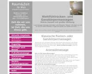 Website Raum&Zeit für mich