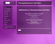 Website Frye, Therapiezentrum Gehrden