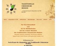 Website Experte-Praxis für Akupunktur und Traditionelle Chinesische Medizin München