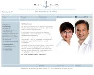 Bild Webseite MKG Chirurgie Altona Dr. Tobias Wilck & Tim Hanke Hamburg