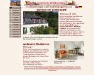 Website Ambiente am Schlosspark