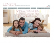 Website LENZER . Relocation & Consulting