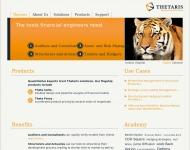 Bild Webseite Thetaris München