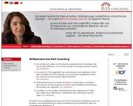 Bild Webseite BAS-Coaching Köln