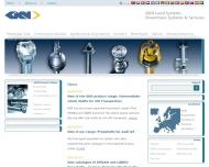 Website GKN Service International