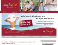Website actiwita Vitalstudio