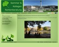 Bild Webseite Rentenberater Sommer Konstanz