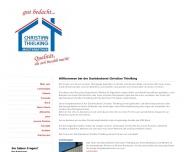 Website Christian Thielking Dachdeckermeister