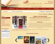 Website geist+reich am St. Marien-Dom