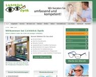 Bild Webseite Lichtblick Optik Berlin Berlin
