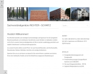 Bild Webseite Richter + Schmitz - Beratende Ingenieure Aachen