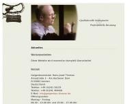 Bild Webseite Geigenbaumeister Hans-Josef Thomas Aachen