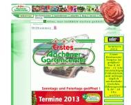 Bild Webseite Erstes Aachener Gartencenter D.& R. Beckert Aachen