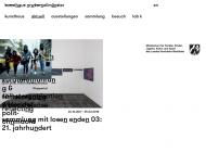 Bild Webseite Museum für Kunst seit 1945 aus Nordrhein-Westfalen Aachen