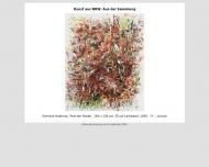 Website Museum für Kunst seit 1945 aus Nordrhein-Westfalen
