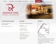 Website Brander Stier