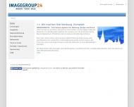 Bild Webseite IMAGEGROUP24 Aachen