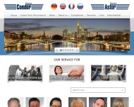 Bild Webseite Detective Condor International Darmstadt