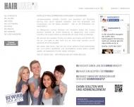 Bild Webseite HAIRLINER'S Bremen