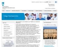 Website AGAPLESION BETHESDA KRANKENHAUS WUPPERTAL gemeinnützige