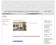 Bild und Rahmen - Kunsthandlung Krusenbaum